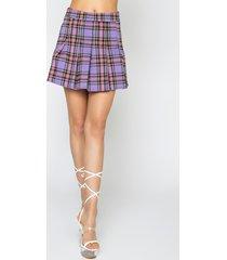 akira talk to me nice mini pleated skirt