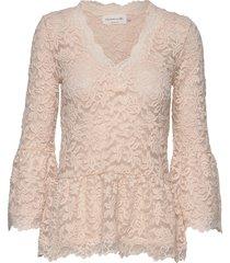 t-shirt 3/4 s blouse lange mouwen roze rosemunde