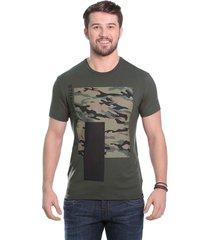camiseta javali militar camufla