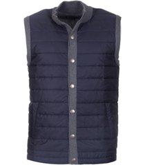 barbour mens classic fit snap-front vest
