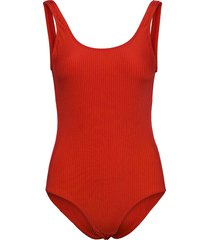 costa saline baddräkt badkläder röd mads nørgaard