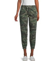 driftwood women's tuscan joggers - camouflage - size l