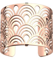 les georgettes by altesse loop openwork wide adjustable cuff poisson bracelet, 40mm, 1.6in