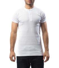 slater t-shirt serafino white granddad