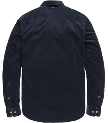 vanguard overhemd regular fit corduroy donker