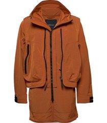 m x.13 combined coat parka jas oranje peak performance