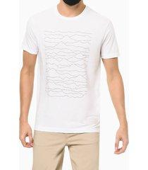 camiseta mc regular silk levels - branco - gg