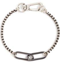 men's nordstrom men's oval link box chain bracelet
