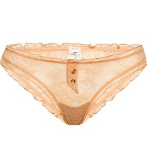 lolita lace trosa brief tanga guld love stories