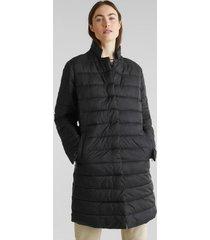 abrigo acolchado con relleno thinsulate de 3m negro esprit