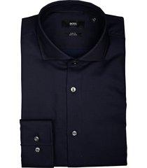 hugo boss overhemd jason donkerblauw 50413744/410