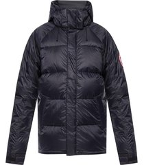 'approach' quilted jacket with detachable hood