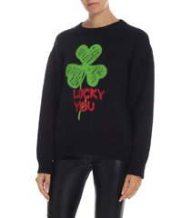 philosophy - lucky you crew neck sweater