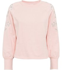 maglione ricamato (rosa) - bodyflirt