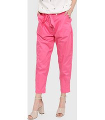 pantalón rosa kaba line helen