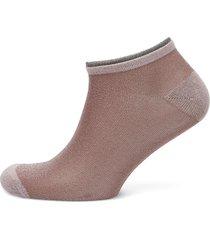 dollie solid footies träningssockor/ankle socks rosa becksöndergaard