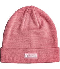gorro label rosa dc