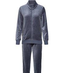 bella velvet set pyjamas grå missya