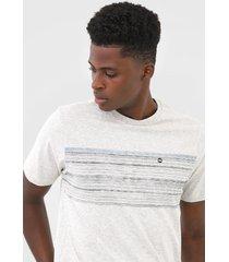 camiseta wg geometric signature cinza - kanui