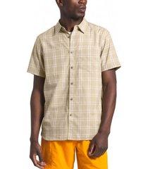 camisa short sleeve hammetts ii beige the north face