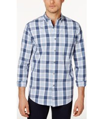 club room men's checked shirt, created for macy's