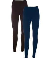 leggings elasticizzati (pacco da 2) (nero) - bpc bonprix collection