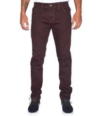 jeans skinny elasticado chocolate old tree