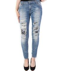 please jeans p95 light blue blauw