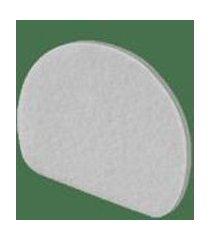 filtro plastico branco para aspirador de po ciclone force acessorio
