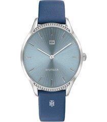 reloj azul tommy hilfiger 1782213 - superbrands