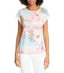 women's ted baker london larnah floral front top