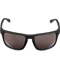 58mm square shield sunglasses