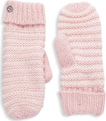 two-piece knitted mittens set