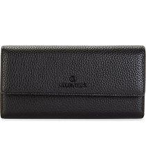 collins dollaro pebbled leather continental wallet