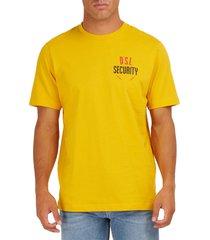 diesel t-shirt just yellow