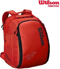 bolso de tenis federer dna blackpack infrared