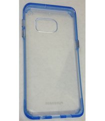 estuche puregear slim shell pro samsung galaxy  s6 edge plus  - borde azul