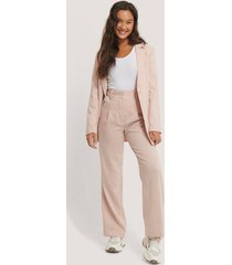 na-kd classic relaxed suit trousers - pink