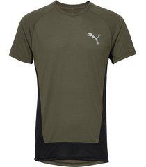evostripe tee t-shirts short-sleeved grön puma