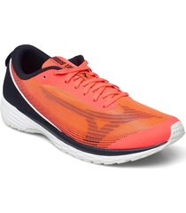 duel sonic 2 shoes sport shoes running shoes orange mizuno