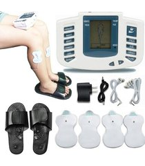 masajeador terapia fisica de pulso electrónico + sandalias electrofisiatria