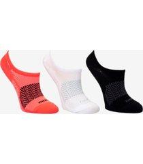 dkny women's no-show 3pk socks