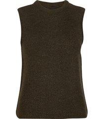 yaszal waistcoat d2d vests knitted vests brun yas