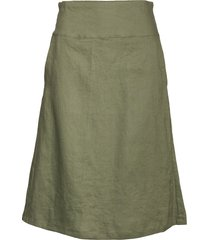 sara knälång kjol grön masai