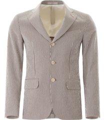 cc collection corneliani striped jacket