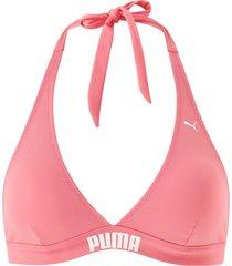 bikinitopp puma swim women halter straps bikini top