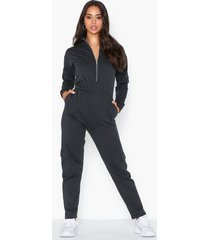 nly trend cargo sweat jumpsuit jumpsuits