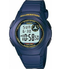 reloj digital azul casio