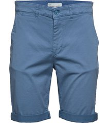 the organic chino shorts shorts chinos shorts blå by garment makers