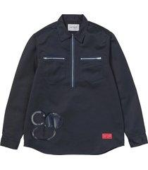 sj minute man zip shirt